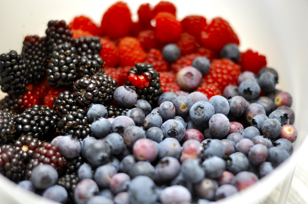 Beautiful antioxidant filled berries.