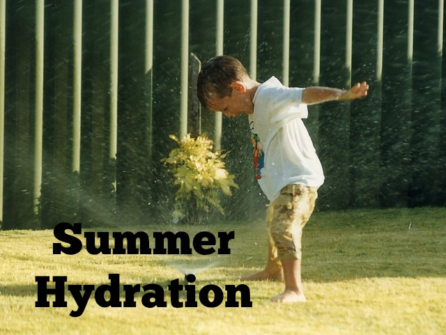 Summertime hydration.