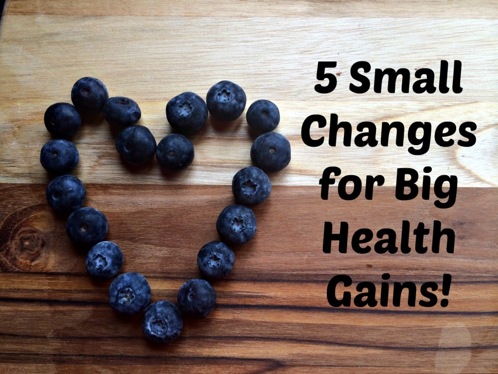 Small changes for big health gains.